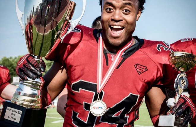 A short interview with our American running back phenomenon; Darrell Lynn Tate II.